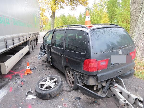 Střet vozidel mezi Hajnicí a Úpicí