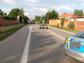 Dopravní nehoda motocykly Třeboň