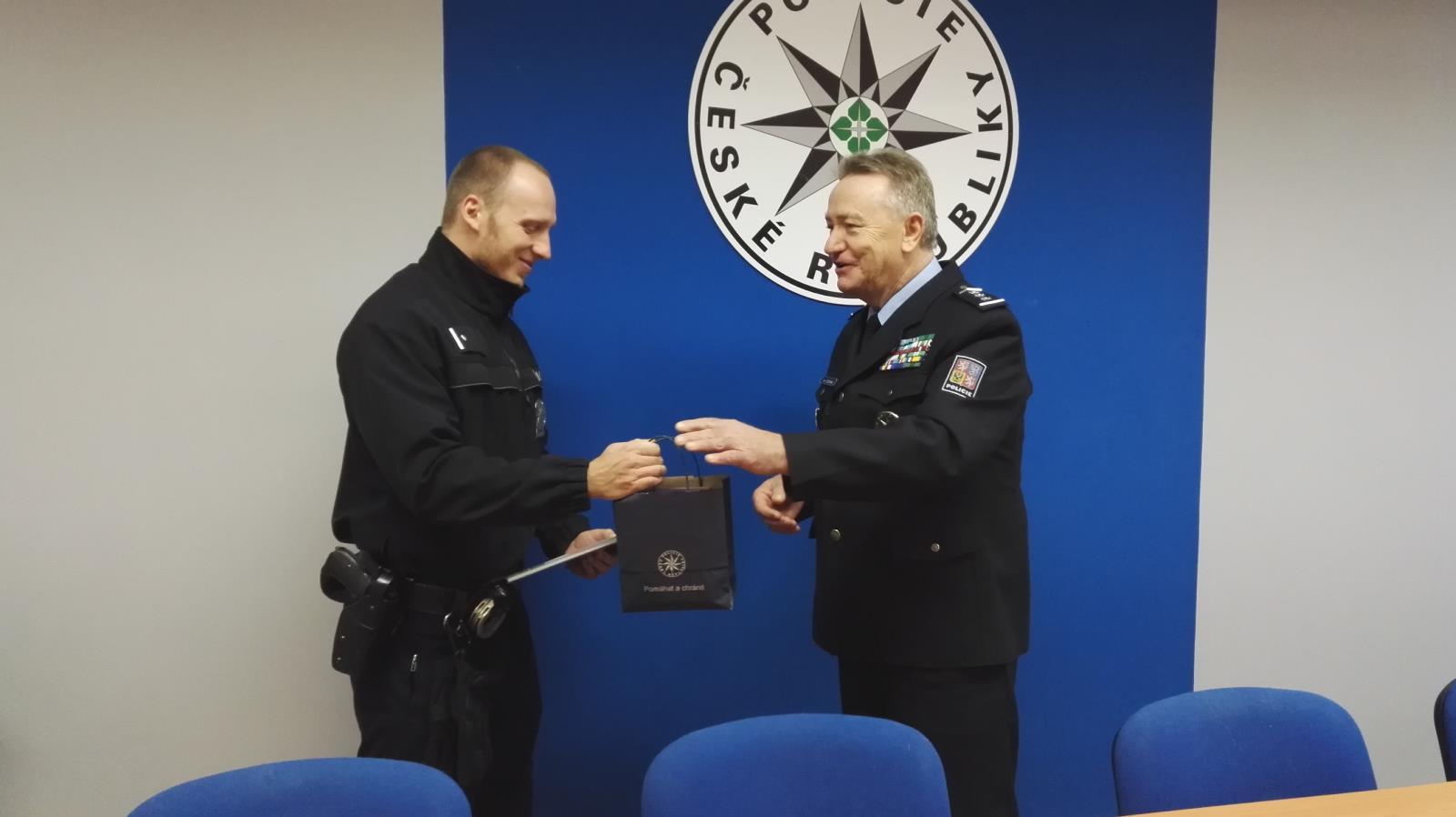 oceněný policista