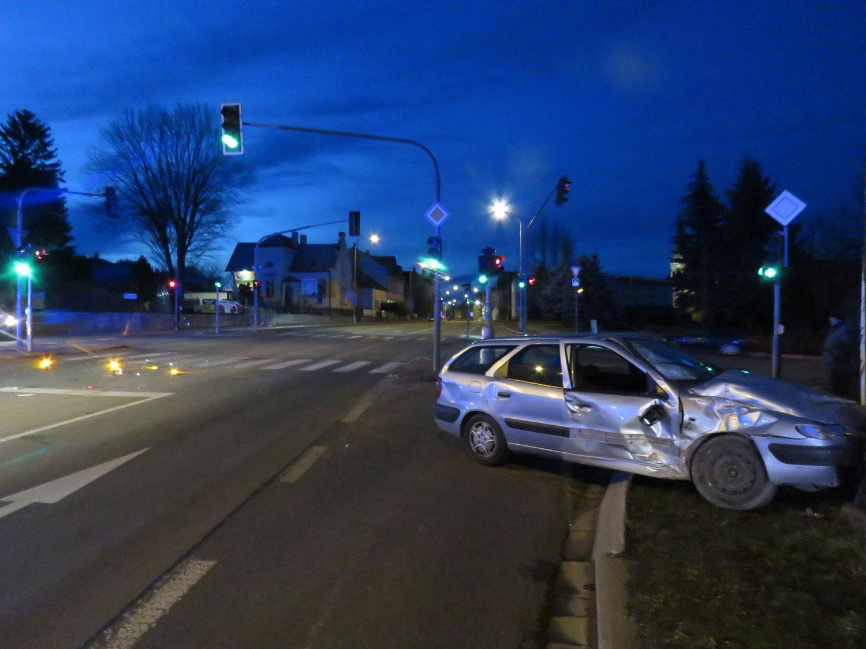 Foto PČR z místa dopravní nehody