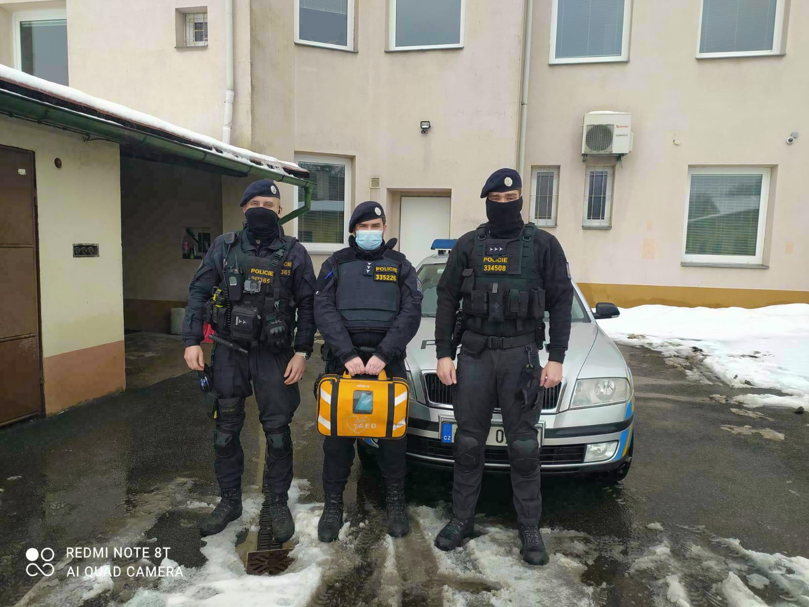 mimonští policisté